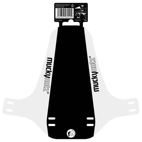 255mm Fender Width All Wheel Sizes White Mucky Nutz Face Fender: R